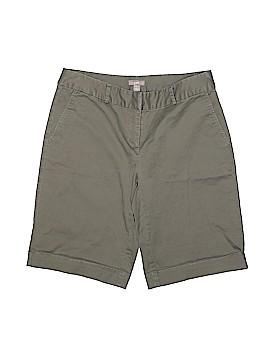 J.jill Khaki Shorts Size 4