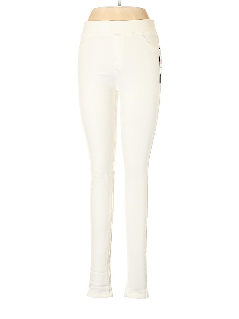 6bd3825d83eef Agnes & Dora Solid Ivory Jeggings Size M - 71% off | thredUP