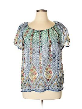 Grand & greene Short Sleeve Blouse Size XL