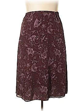 Valerie Stevens Silk Skirt Size 20 (Plus)