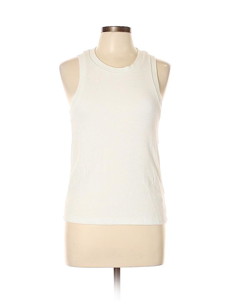 Madewell Women Sleeveless T-Shirt Size L