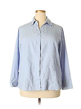 Carolina Colours Long Sleeve Button-Down Shirt Size 18 - 20 (Plus)