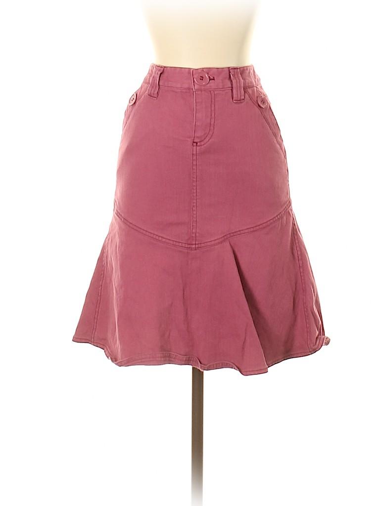 Marc by Marc Jacobs Women Denim Skirt Size 0