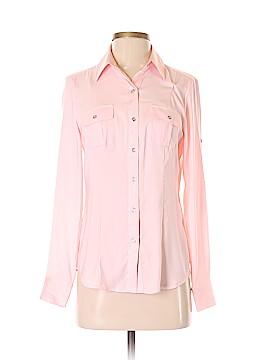 White House Black Market Long Sleeve Button-Down Shirt Size 0