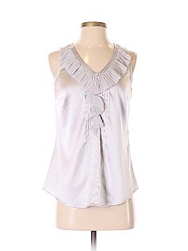 White House Black Market Sleeveless Silk Top Size XS