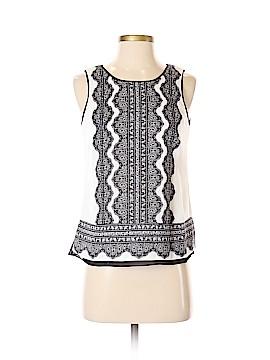 White House Black Market Sleeveless Blouse Size XS