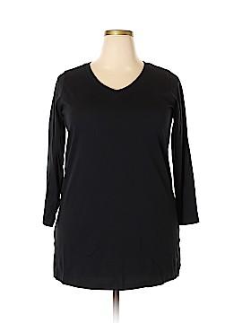 Roaman's 3/4 Sleeve T-Shirt Size 16 - 14