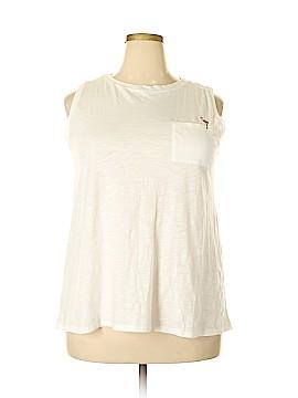 Ann Taylor LOFT Sleeveless T-Shirt Size 16 - 18