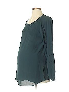 Ann Taylor LOFT Maternity Long Sleeve Blouse Size S (Maternity)