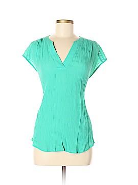 Liz Claiborne Short Sleeve Blouse Size M