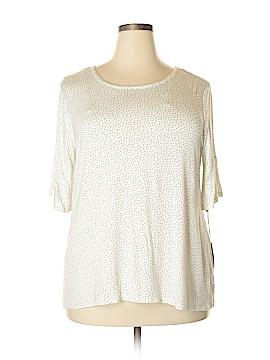 LC Lauren Conrad 3/4 Sleeve Top Size XXL