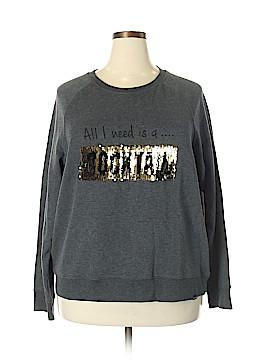 Marc New York Sweatshirt Size 2X (Plus)