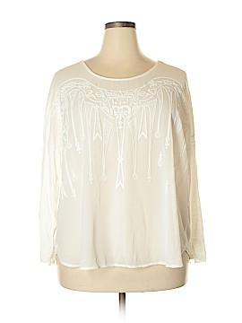 Umgee Long Sleeve Blouse Size 1X (Plus)