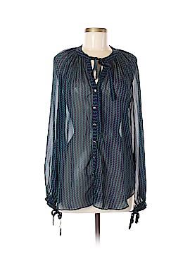Maeve Long Sleeve Blouse Size M