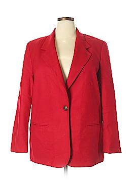 Requirements Wool Blazer Size 18 (Plus)