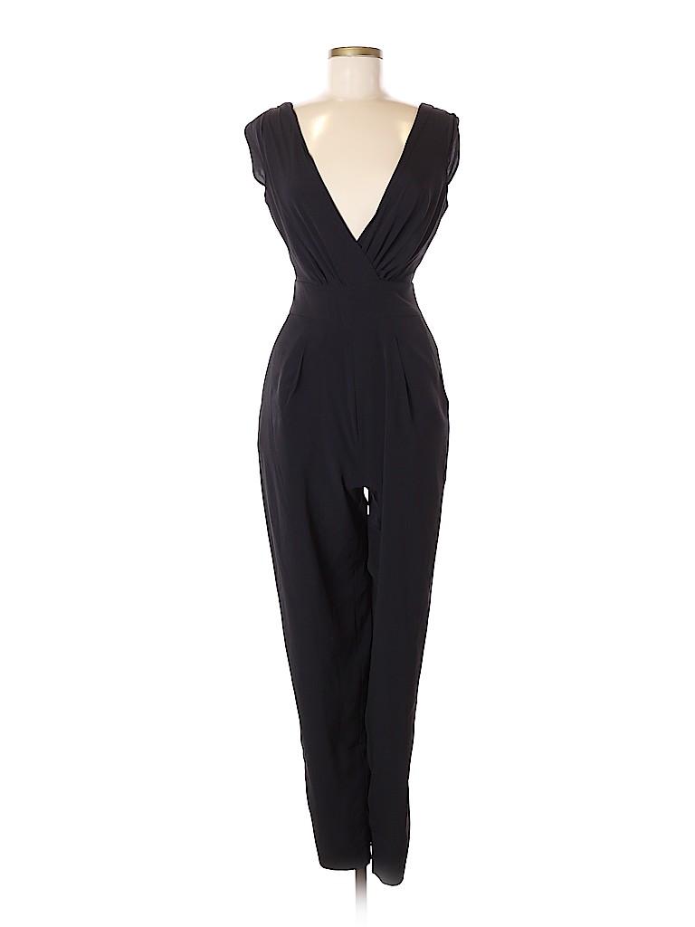 1e84f09dcb3 Bebe Solid Black Jumpsuit Size 6 - 64% off
