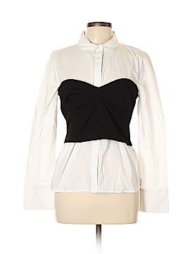 Bardot Long Sleeve Button-Down Shirt Size 10