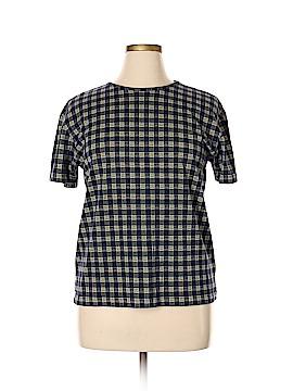 Lizsport Short Sleeve Blouse Size XL