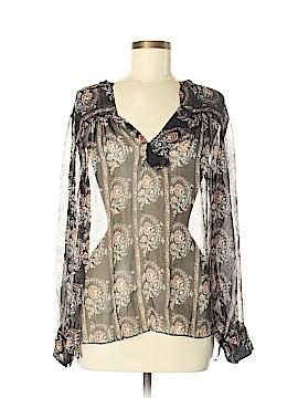 Étoile Isabel Marant Long Sleeve Silk Top Size 38 (FR)