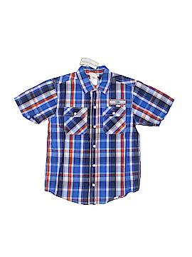 Toughskins Short Sleeve Button-Down Shirt Size 7