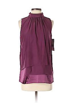 Lafayette 148 New York Sleeveless Silk Top Size 0