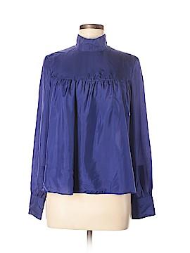 Sunner Long Sleeve Silk Top Size M