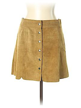 Étoile Isabel Marant Leather Skirt Size 42 (FR)