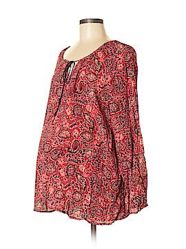 Oh! Mamma Long Sleeve Blouse Size M (Maternity)