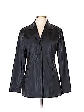 Cool Wear Faux Leather Jacket Size L