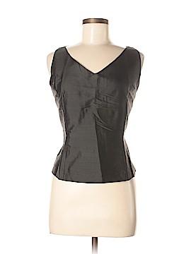 Silk Box Sleeveless Silk Top Size 12