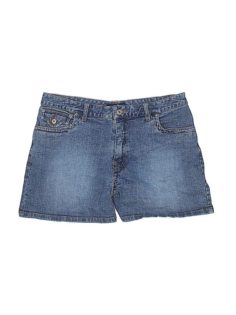 L.A. Blues Women Denim Shorts Size 16
