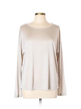 Tahari Long Sleeve Top Size L