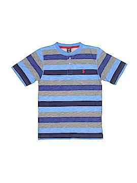 U.S. Polo Assn. Short Sleeve Henley Size 10 - 12