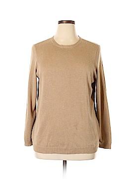 Lauren by Ralph Lauren Silk Pullover Sweater Size 2X (Plus)