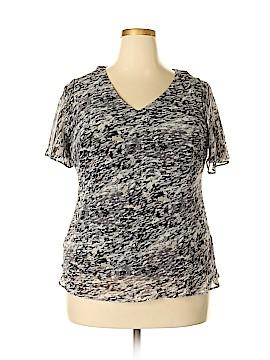 R&K Short Sleeve Blouse Size 18 (Plus)