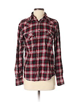 Next Long Sleeve Button-Down Shirt Size S