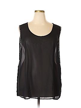 Ali & Kris Short Sleeve Blouse Size 3X (Plus)