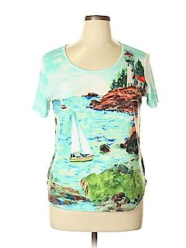 Rebecca Malone Short Sleeve T-Shirt Size XL (Petite)