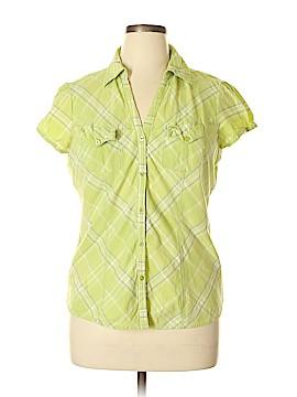 Route 66 Short Sleeve Button-Down Shirt Size XL