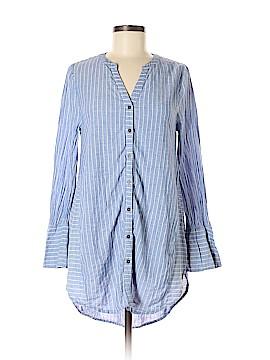 Umgee Long Sleeve Button-Down Shirt Size M