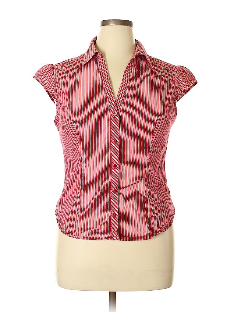 No Boundaries Women Short Sleeve Blouse Size 15