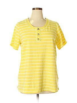 D&Co. Short Sleeve Henley Size XL