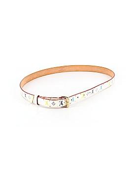 Louis Vuitton Leather Belt Size XS