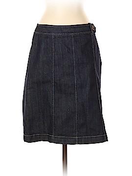 Ann Taylor Factory Denim Skirt Size 4 (Petite)