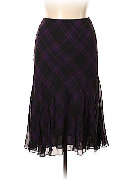 Lauren by Ralph Lauren Silk Skirt Size 16