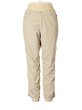L-RL Lauren Active Ralph Lauren Linen Pants Size 16
