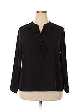 Talbots Long Sleeve Blouse Size 18W (Plus)