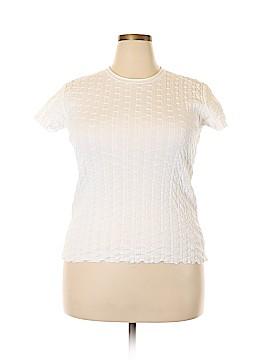Armani Collezioni Short Sleeve Top Size 14