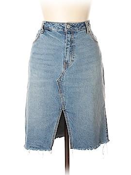 H&M Denim Skirt Size 14