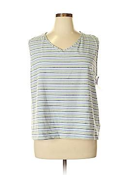 Danskin Sleeveless T-Shirt Size 3X (Plus)